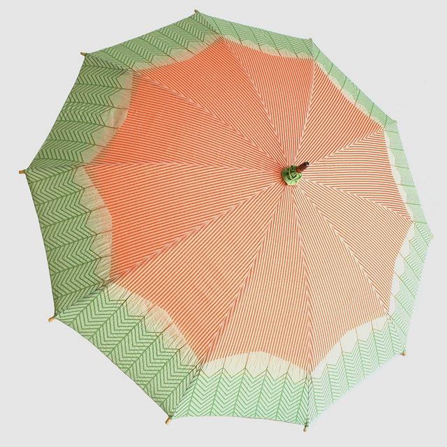 【日傘】 菜-sai- にんじん ※雨天使用不可