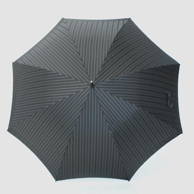 【紳士雨傘】Tie Stripe×Plain BLACK