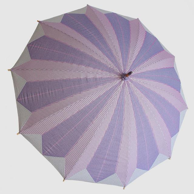 【日傘】 菜-sai- 紫おくら ※雨天使用不可
