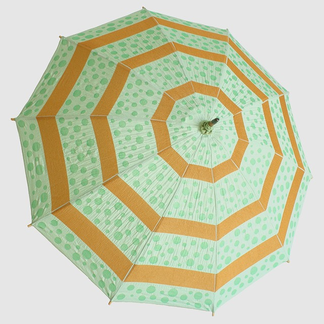 【日傘】 菜-sai- まめ ※雨天使用不可