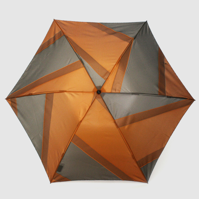 【晴雨兼用軽量】repel. Portable umbrella -Orange Khaki-