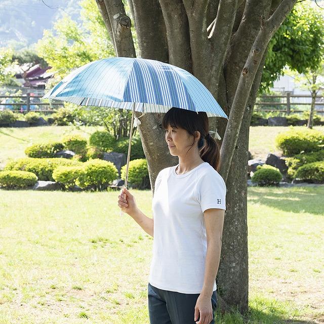 【晴雨兼用 ショート傘】stripe pattern5