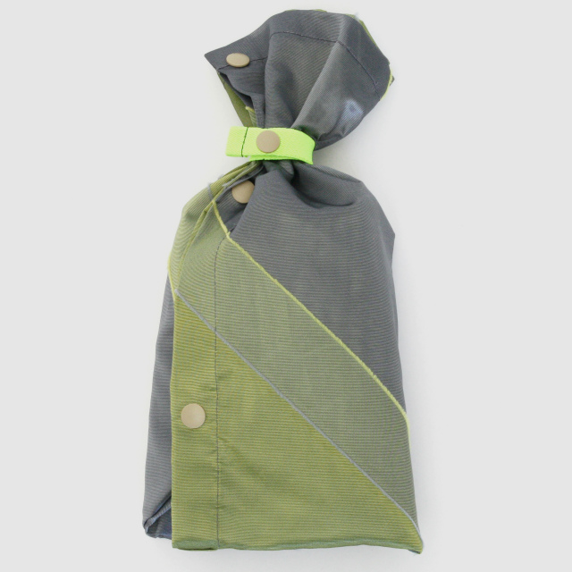 repel. Rain poncho -Yellow Gray-