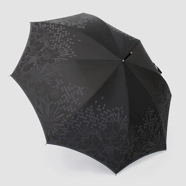 【紳士晴雨兼用】monotone  花