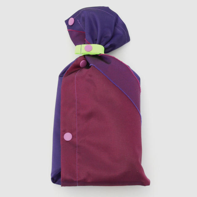 repel. Rain poncho -Purple Pink-