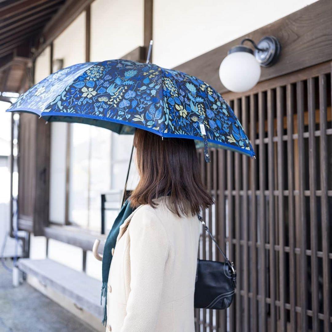 【晴雨兼用】 Stig L 【HERBARIUM】(ハーバリウム) 青