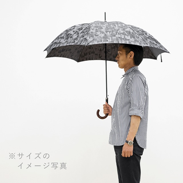 *NEW*【晴雨兼用】グラフィックジャカード ダークグリーン