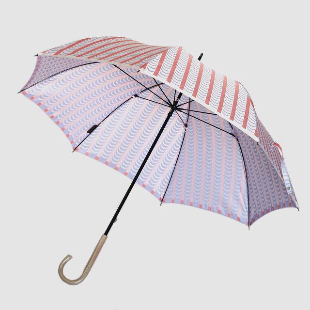 【晴雨兼用】 Stig L 【DRAPES】(ドレープ) ピンク×パープル