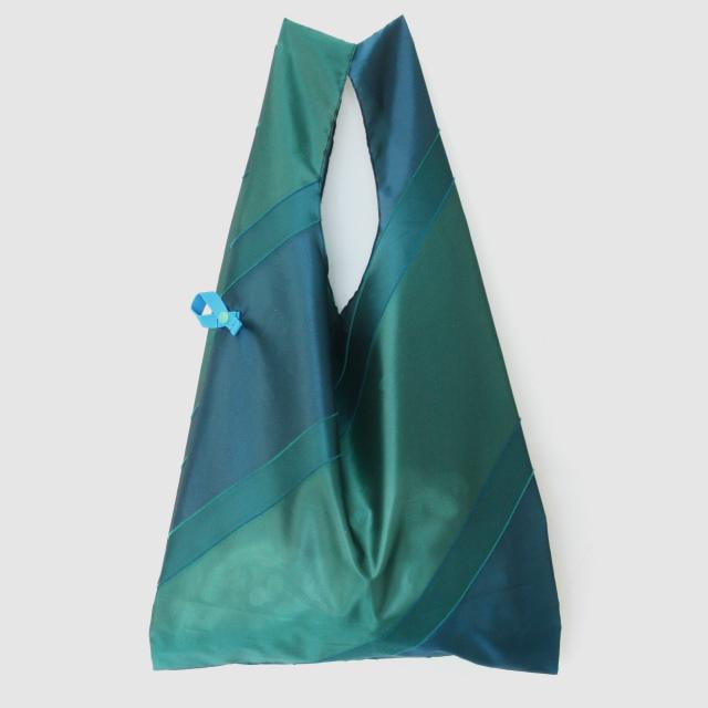 【防水・撥水カバーバッグ】repel. Cover bag -Green Peacock-