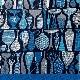 【晴雨兼用】 Stig L 【POTTERY】(陶器) ブルー