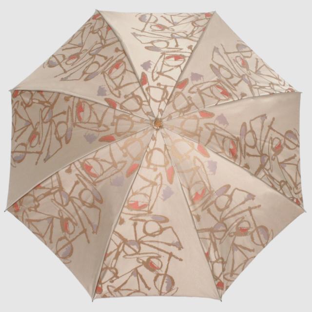 【晴雨兼用 折りたたみ傘】Aneqdot×槇田商店 ピンク
