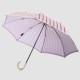 【晴雨兼用 折りたたみ傘】 Stig L 【DRAPES】(ドレープ) ピンク×パープル