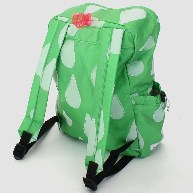 fusion back pack SHIZUKU グリーン×白