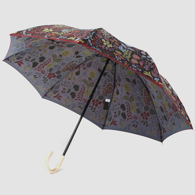 【晴雨兼用 折りたたみ傘】 Stig L  【HERBARIUM】(ハーバリウム) 赤