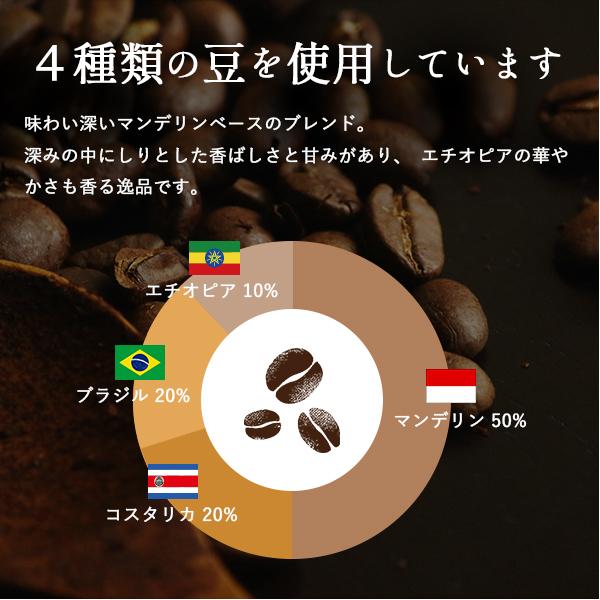【送料無料】焙煎工房オリジナルブレンド ジャルディーノブレンド(深煎り)500g