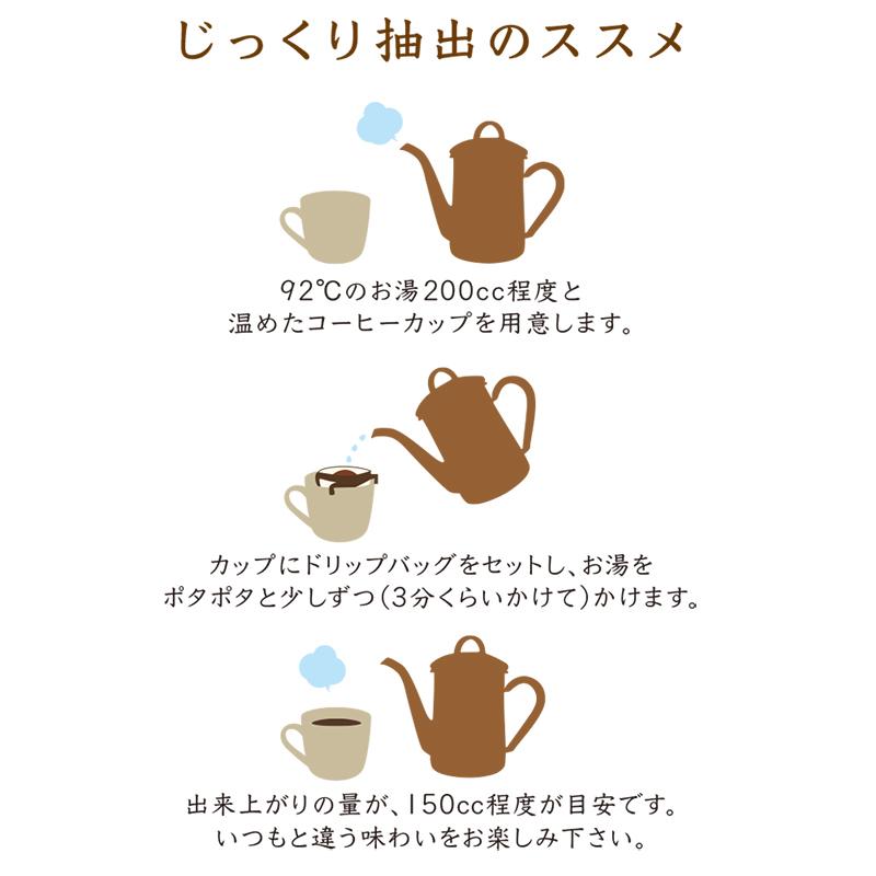 【メール便送料無料】焙煎工房本池 オリジナルドリップバッグ ブラジル(中煎り) 5枚入