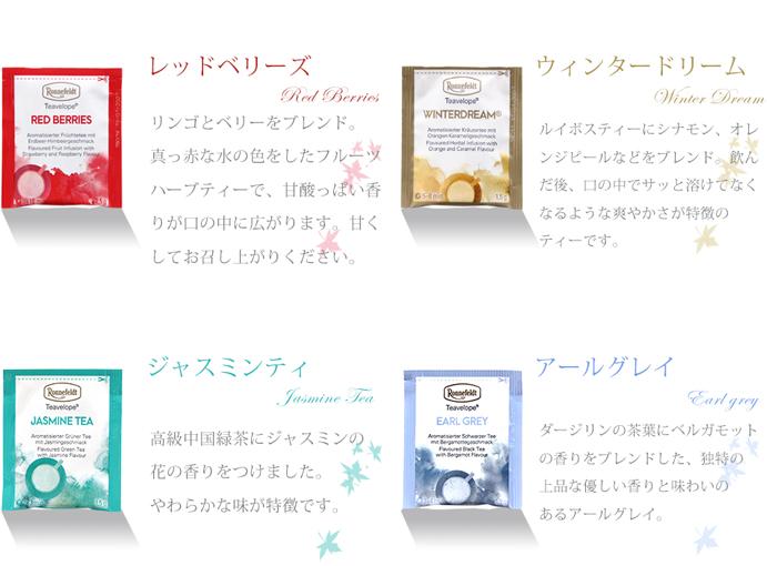 【メール便送料無料】ロンネフェルト お試し ティーベロップ 12種セット