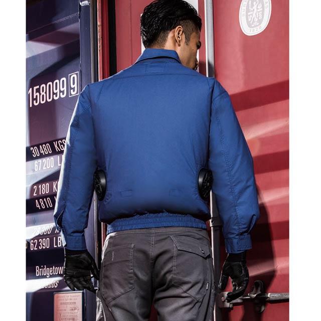 【KU90550-ZLBS19 _販売終了】_ブルゾン+ファン+大型バッテリー2019_(空調風神服)