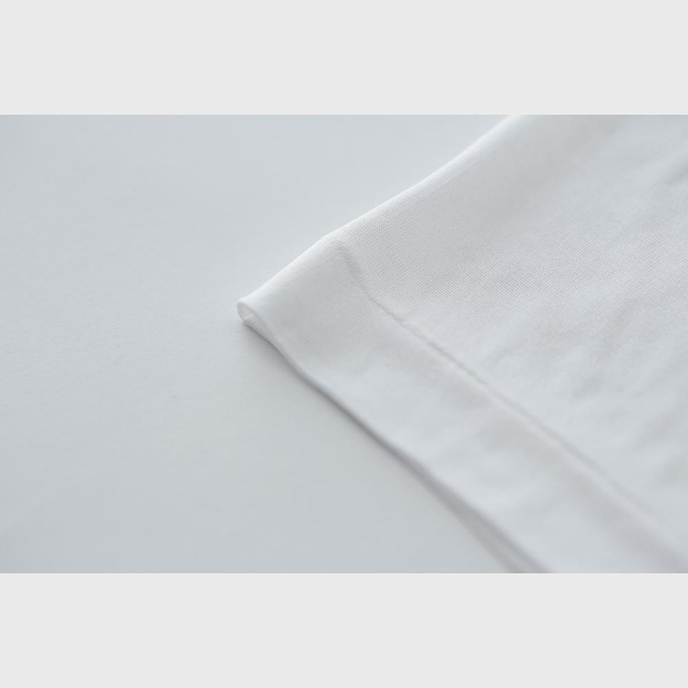 正絹シルク100% フレンチ袖インナー (天竺編み)[メール便可)