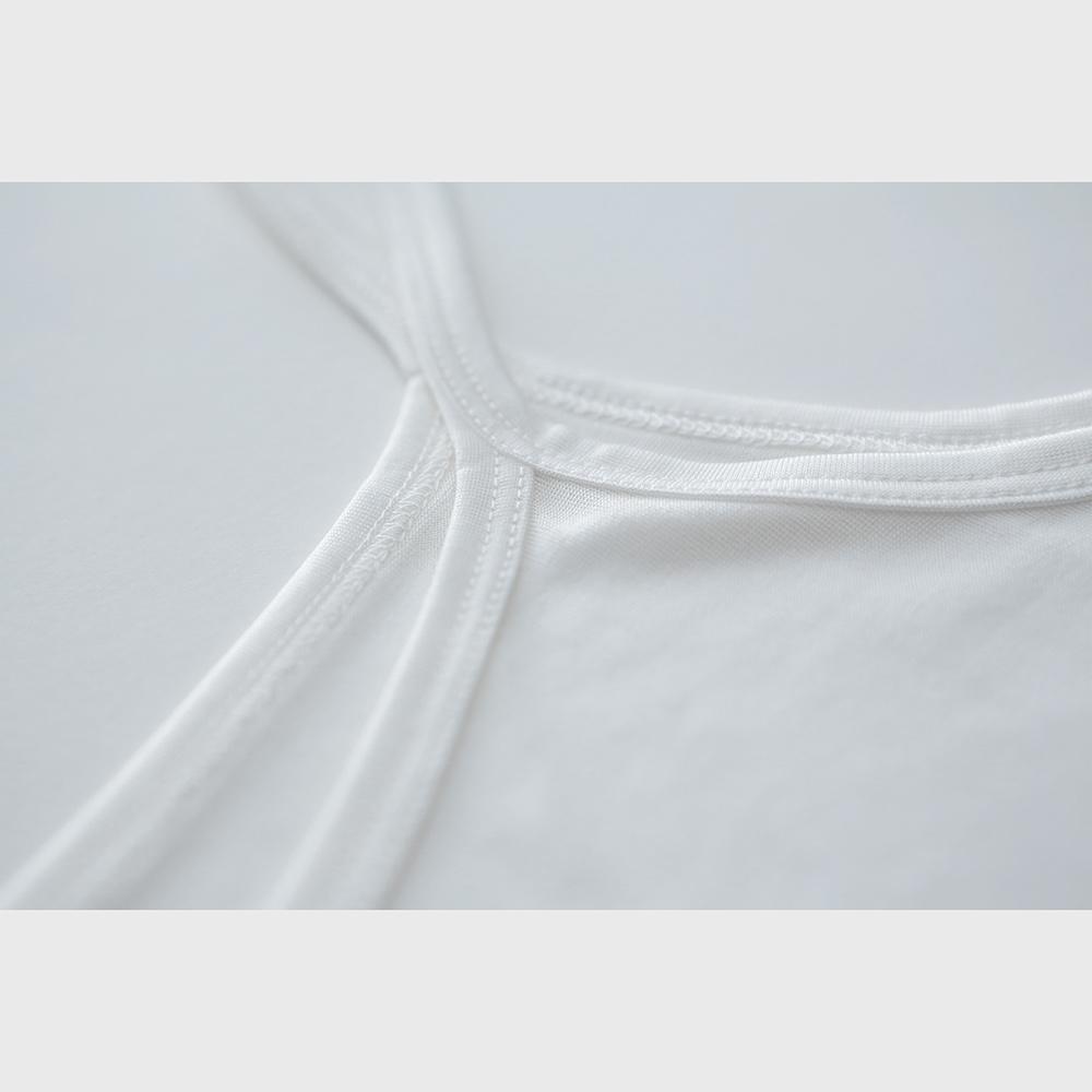 正絹シルク100%インナー キャミソール ( 天竺編み )[メール便可]