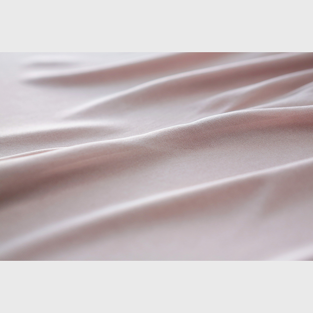 正絹シルク100% レース付 キュロット 80cm丈 (天竺編み)[メール便可]