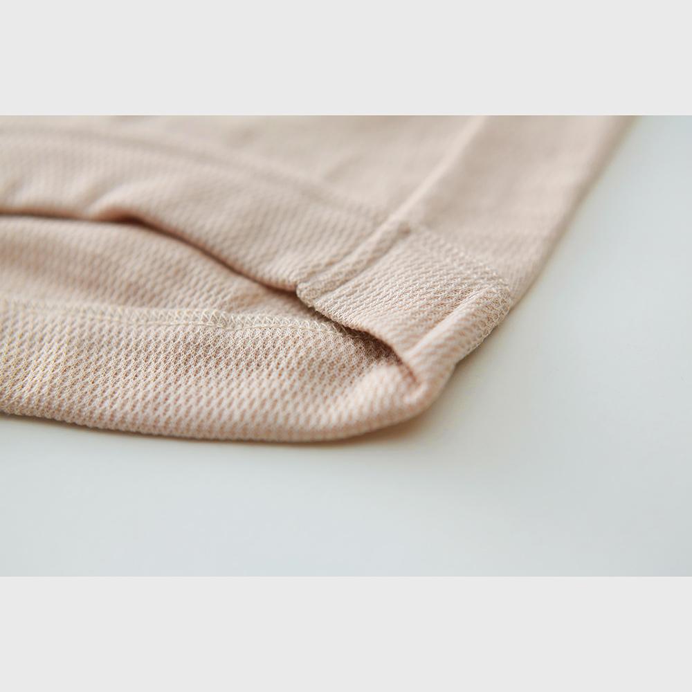 肌側シルク100% エアリーボクサーショーツ(内絹外ウール)[メール便可]