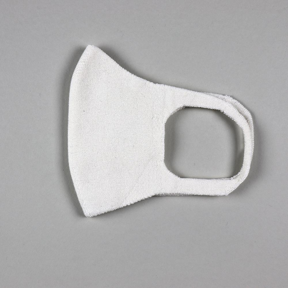 肌面シルク100% 無縫製マスク[メール便可]
