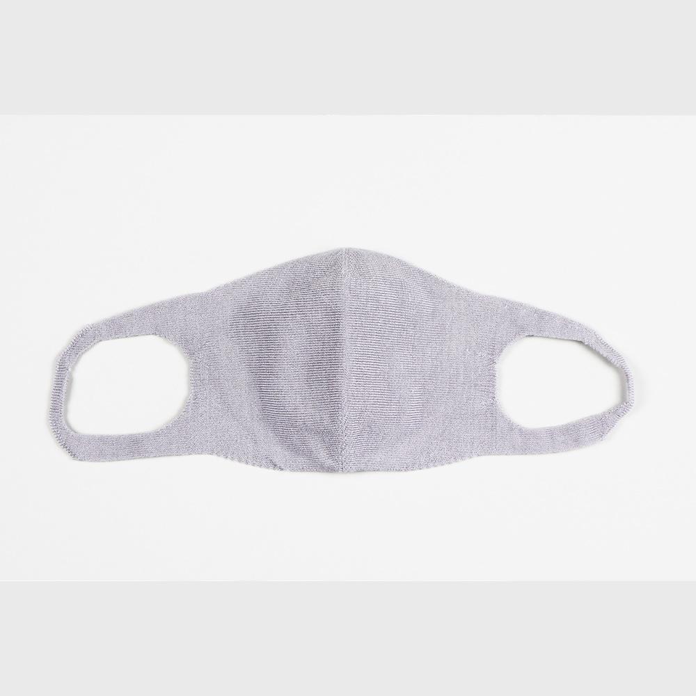 肌面シルク100% 無縫製マスク(ライト)[メール便可]