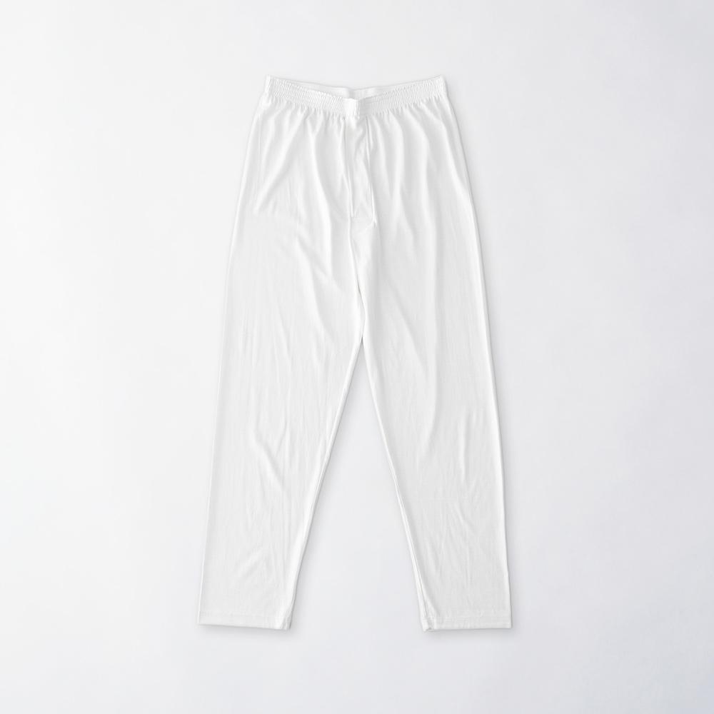 シルクコットン 男の絹 ロングボトム[メール便]