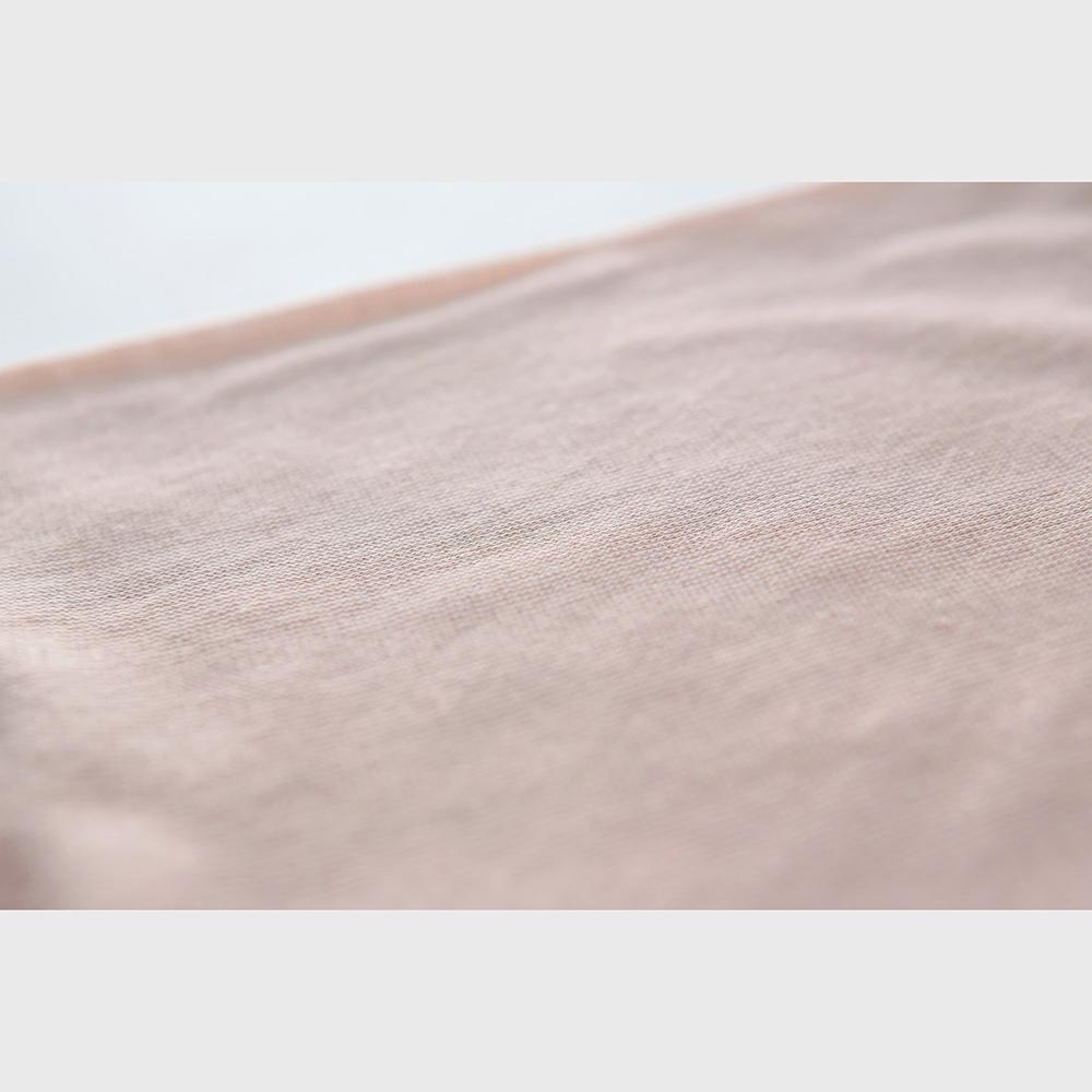 肌側シルク100% エアリーロングボトム (内絹外綿) [メール便可]