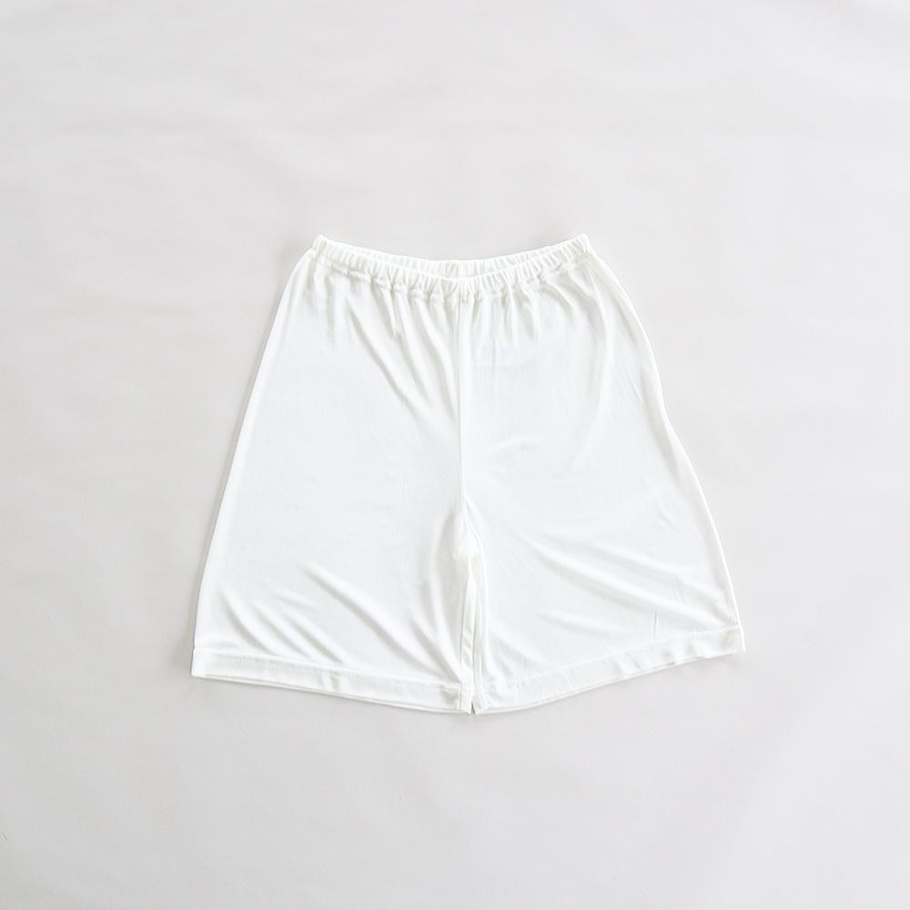 正絹シルクスムース100% フレアーパンツ [メール便可]
