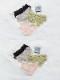 【ネコポス送料220円】シンプルレースショーツ5カラー《かわいいコスプレランジェリー》【SEVENTY-THREE】【2682】