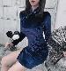 私服系チャイナドレス《かわいいコスプレ1点セット》【Malymoon/マリームーン】【9348】