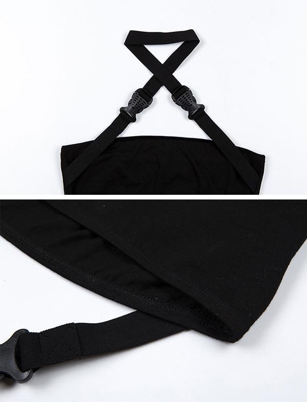 ダンス衣装 セクシー ダンス 衣装 ダンスウェア ダンスウエア 舞台衣装 ブラック 黒 セットアップ【dance-8332】