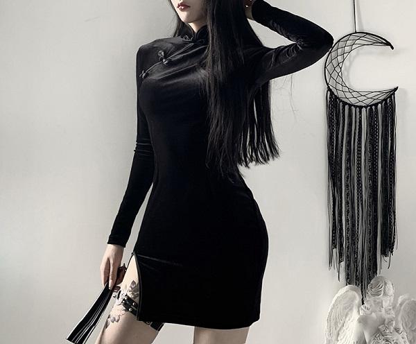 私服系チャイナドレス《かわいいコスプレ1点セット》【Malymoon/マリームーン】【9348-2】