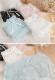【ネコポス送料220円】ドットストライプ柄ショーツ4カラー《かわいいコスプレランジェリー》【SEVENTY-THREE】【2820】