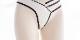 【ネコポス送料220円】セクシーホワイトショーツ《かわいいコスプレランジェリー》【SEVENTY-THREE】【2611】