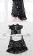 ブラックチャイナメイド服《かわいいコスプレ2点セット》【SEVENTY-THREE】【2753】
