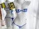 風紀委員コスランジェリー《セクシーコスプレ3点セット》【Malymoon/マリームーン】【5940】