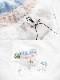 【ネコポス送料220円】レースアップ星柄ショーツ3カラー《かわいいコスプレランジェリー》【SEVENTY-THREE】【2645】