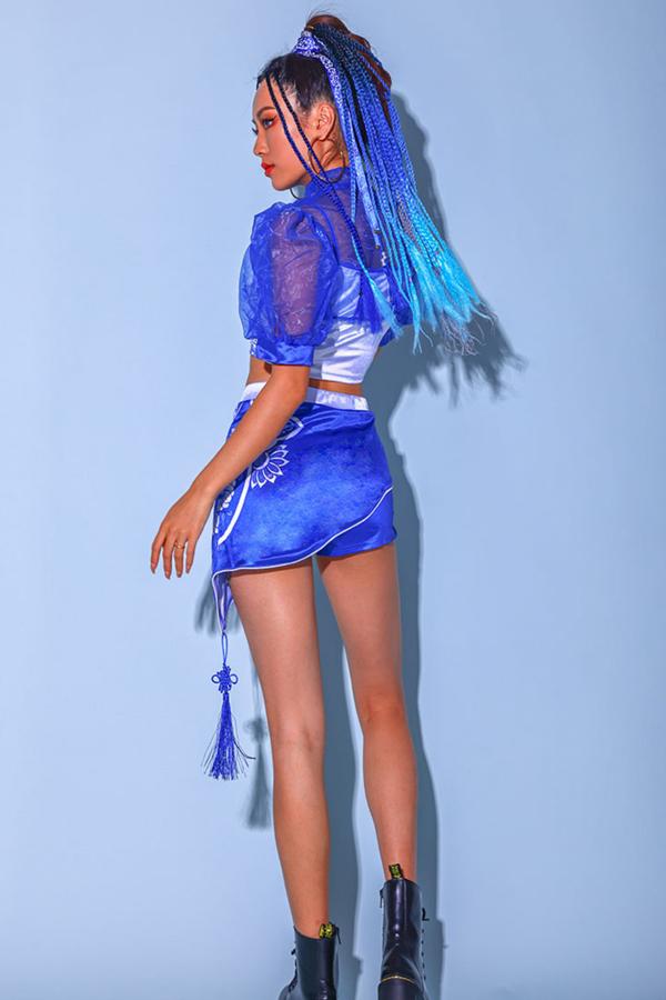 ダンス衣装 セクシー ダンス 衣装 ダンスウェア ダンスウエア 舞台衣装【dance-8564】