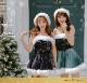 【即日発送】キラキラサンタクロース9カラー《クリスマスコスプレ4点セット》【Malymoon/マリームーン】【orx001-3】