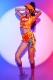 ダンス衣装 セクシー ダンス 衣装 ダンスウェア ダンスウエア 舞台衣装【dance-8134-1】