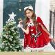 【予約-11月下旬より順次発送】マントサンタクロース《クリスマスコスプレ5点セット》【Malymoon/マリームーン】【9573】