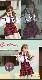【予約-4月中旬より順次発送】オフショル女子高生/ミニスカJK《ハロウィンコスプレ8点セット》【Malymoon/マリームーン】【2724】