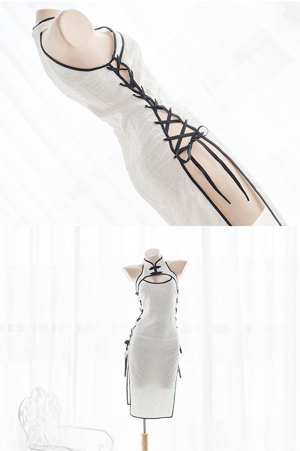 ロングチャイナドレス2カラー《かわいいコスプレ1点セット》【SEVENTY-THREE】【2440】