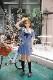 JK制服/半袖セーラー服女子高生《ハロウィンコスプレ3点セット》【Malymoon/マリームーン】【6763】