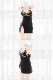 ブラックレースランジェリー《かわいいコスプレ2点》【SEVENTY-THREE】【5942】