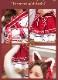 【五木あきらコラボ】【予約-10月25日頃より順次発送予定】巫女キツネ《ハロウィンコスプレ7点セット》【Malymoon/マリームーン】【8880】