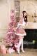 【予約-11月上旬頃より順次発送予定】ピンクケープサンタ《クリスマスコスプレ8点セット》【Malymoon/マリームーン】【s9607】